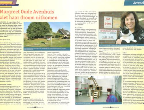 Artikel in Divebo Vakblad november 2006